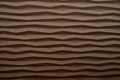 Textura de madera moderna de la onda Fotografía de archivo