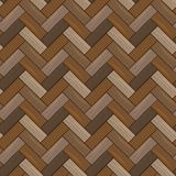 Textura de madera natural del entarimado Modelo inconsútil EPS10 ilustración del vector