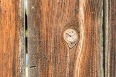 Textura de madera natural del tablón Fotografía de archivo