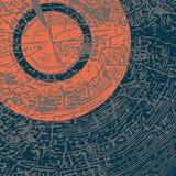 Textura de madera natural del vector con forma geométrica brillante libre illustration