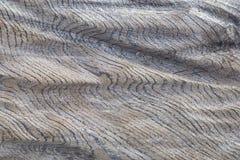 Textura de madera ondulada foto de archivo libre de regalías