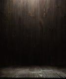 Textura de madera oscura del fondo Imagen de archivo