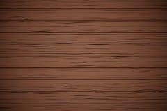 Textura de madera oscura del tablón del vector Imagen de archivo