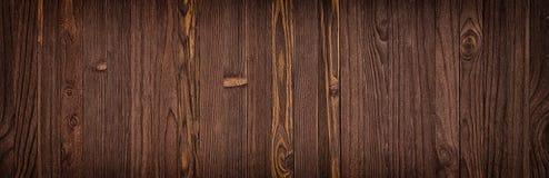 Textura de madera oscura, fondo vacío del piso de madera o tabla Fotos de archivo libres de regalías