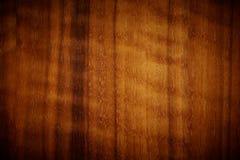 Textura de madera oscura rica del grano Imágenes de archivo libres de regalías