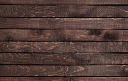 Textura de madera oscura Textura de madera del vintage Fotos de archivo
