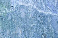 Textura de madera pintada azul clara Foto de archivo libre de regalías