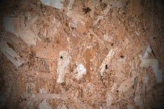 Textura de madera presionada del panel Fotografía de archivo libre de regalías