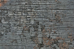 Textura de madera quemada Imagenes de archivo