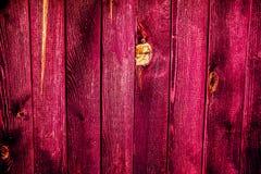 textura de madera resistida colorida de la cerca Fotos de archivo libres de regalías