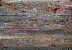 Textura de madera resistida de la pared Foto de archivo libre de regalías