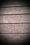 Textura de madera rojiza resistida de los tablones Fotografía de archivo