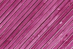 Textura de madera rosada de la pared Fotos de archivo