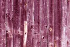 Textura de madera rosada resistida de la pared Foto de archivo