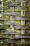 Textura de madera tejida 02 Fotografía de archivo