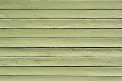 Textura de madera verde del fondo Fotografía de archivo libre de regalías