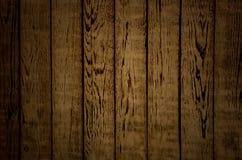 Textura de madera vertical de Brown Imágenes de archivo libres de regalías