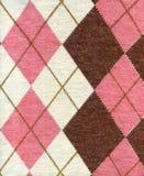 Textura de matéria têxtil da tela de lãs Imagens de Stock
