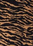 Textura de matéria têxtil da tela do tigre Fotos de Stock