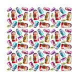 Textura de Matrioshka Foto de Stock