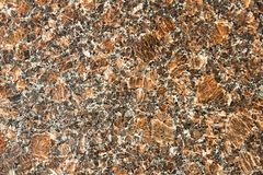Textura de microplaquetas de mármore douradas marrons Fotografia de Stock