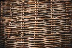 Textura de mimbre de la vid del vintage Imagenes de archivo
