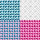 Textura de mimbre hecha con las cintas coloridas Imagen de archivo