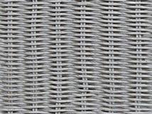 Textura de mimbre inconsútil de la armadura Foto de archivo libre de regalías