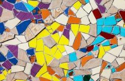 Textura de mosaico colorida abstracta Fotos de archivo