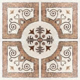 Textura de mosaico de la mármol-piedra de Brown (Alto res ) fotografía de archivo libre de regalías