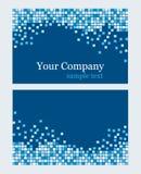 Textura de mosaico do cartão Grupo do vetor Fotografia de Stock Royalty Free
