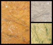 Textura de mármore Fotos de Stock