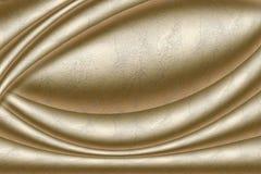 Textura de oro Imagen de archivo libre de regalías