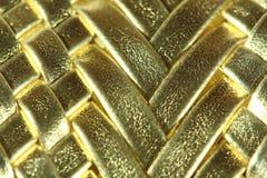 Textura de oro abstracta Imágenes de archivo libres de regalías