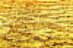 Textura de oro del bloque cuadrado Imagen de archivo libre de regalías