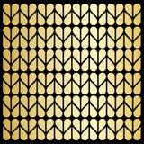 Textura de oro del corazón Fotos de archivo