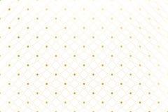 Textura de oro Modelo afilado geométrico con las líneas y los puntos conectados Alinea círculos del plexo Fondo gráfico stock de ilustración
