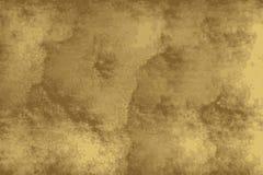 Textura de oro de un piso del grunge similar al hormigón libre illustration