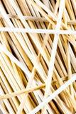 Textura de palillos de madera Foto de archivo libre de regalías