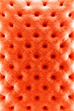 Textura de pano do sofá da cor vermelha Fotos de Stock Royalty Free