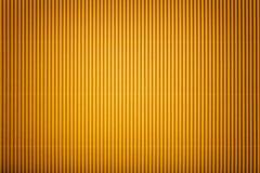 Textura de papel amarelo ondulado com vinheta, macro foto de stock royalty free