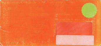 Textura de papel anaranjada envejecida imagenes de archivo