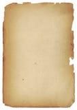 Textura de papel antiga velha do XL Fotos de Stock Royalty Free