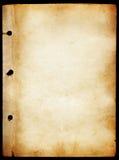 Textura de papel antigua Imagenes de archivo