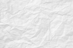 Textura de papel arrugada Imágenes de archivo libres de regalías