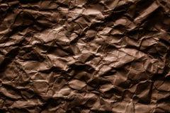 Textura de papel arrugada foto de archivo libre de regalías