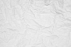 Textura de papel arrugada Fotos de archivo