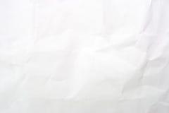 Textura (de papel) arrugada Foto de archivo