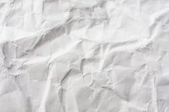 Textura de papel arrugada Imagen de archivo
