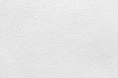 Textura (de papel) arrugada Hoja del papel blanco de la acuarela Foto de archivo